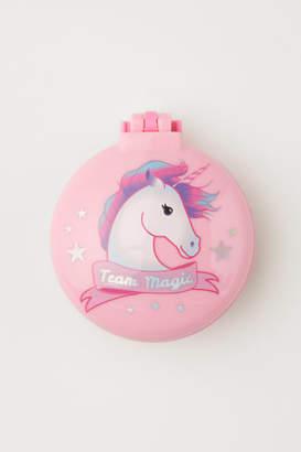 H&M Hairbrush with Motif - Pink