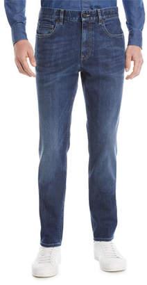 Z Zegna Slim-Fit Denim Jeans