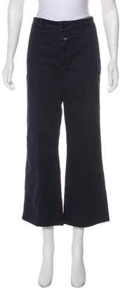 Closed Mid-Rise Pants