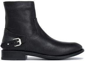 Rag & Bone Buckled Leather Ankle Boots