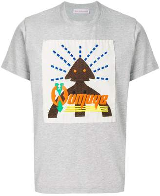 Walter Van Beirendonck embroidered T-shirt
