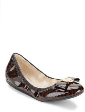 Cole Haan  Tali Patent Leather Ballet Flats