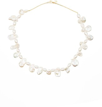 Anissa Kermiche Shelley baroque pearl necklace