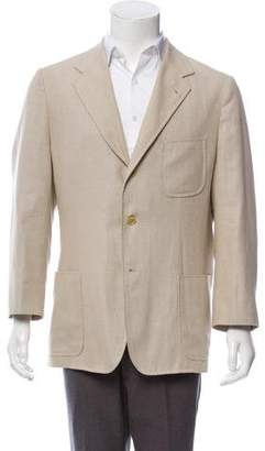 Loro Piana Deconstructed Virgin Wool & Silk-Blend Sport Coat