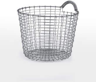 Rejuvenation Korbo 16 Handmade Wire Basket with Handle