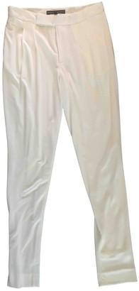 Ralph Lauren White Trousers for Women