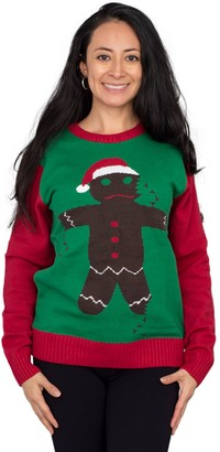 Ugly Sweater Company Broken Gingerbread Ugly Christmas Sweater