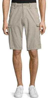 Jet Lag Embroidered Cargo Shorts