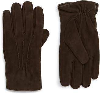 Eleventy Suede Gloves