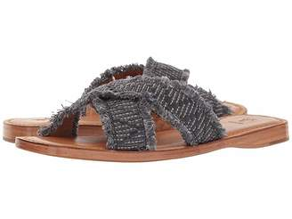 Frye Hayley Frayed Slide Women's Slide Shoes