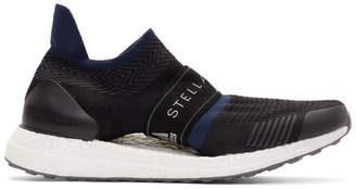 adidas by Stella McCartney Black and Navy Parley UltraBoost X 3D Sneakers
