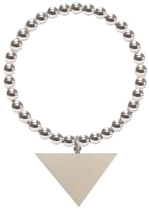 Buffalo David Bitton ORA Pearls - Silver Orb Ring Bone Triangle