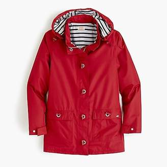 J.Crew Armor-Lux® for raincoat with striped lining