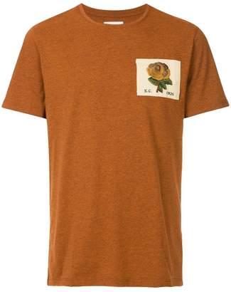 Kent & Curwen embroidered logo patch T-shirt