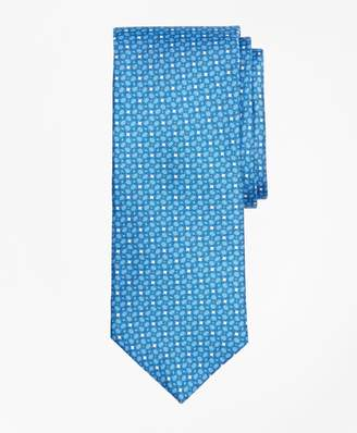 Brooks Brothers Horseshoe Motif Print Tie