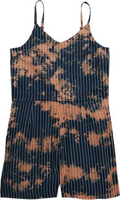 Treasure & Bond Tie Dye Stripe Romper