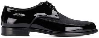 Saint Laurent lace-up pointed derby shoes