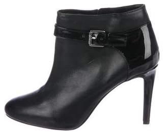 Lauren Ralph Lauren Leather Round-Toe Booties