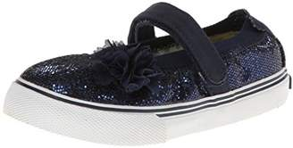 Morgan&Milo Kids Girl's Dazzle Glitter MJ (Toddler/Little Kid) Sneaker