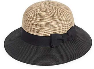 HBC PARKHURST Colourblock Panama Hat