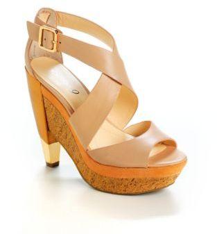 Boutique 9 Umberta Leather Platform Sandals