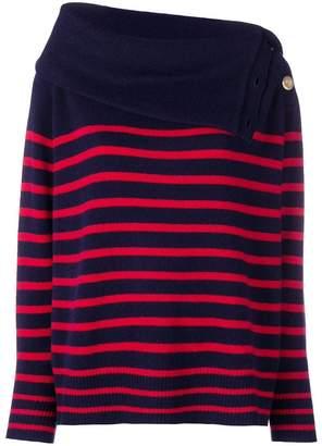 Mes Demoiselles roll neck striped jumper