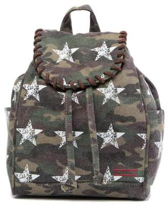 Peace Love World Drawstring Backpack