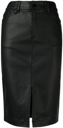 Emporio Armani high waisted pencil skirt