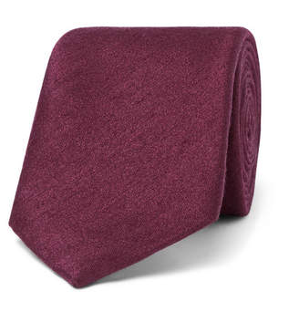 Richard James 8cm Silk And Wool-Blend Tie