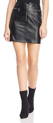 Tiger Mist Lennon Faux Leather Mini Skirt