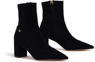 174adced0d4a Fitted Stretch Black Boots - ShopStyle