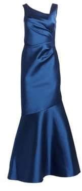 Teri Jon by Rickie Freeman Stretch Taffeta Mermaid Gown