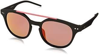 Polaroid Unisex's PLD 1023/S AI DL5 Sunglasses, Matt Black Pink Grey Speckled Pz