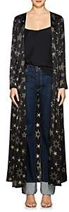 Leone WE ARE Women's Star-Print Silk Maxi Cardigan