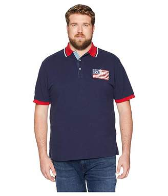 Polo Ralph Lauren Big & Tall Big Tall American Flag Pique Polo