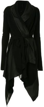 Masnada asymmetric cashmere dress