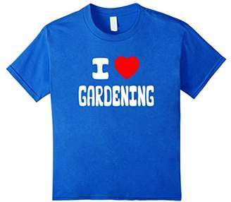 I Love Gardening T-Shirts (5 Different Colors)