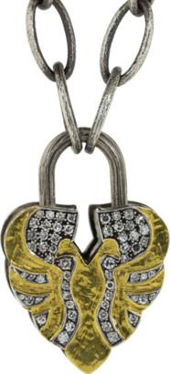 Sevan Biçakci Diamond Aspen Leaf Lock