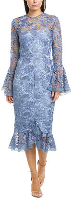 Issue New York Lace Midi Dress