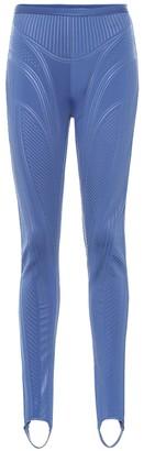 Thierry Mugler Stirrup compression leggings