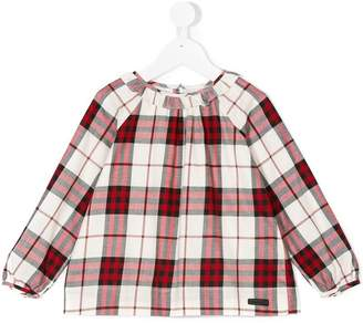 Burberry checked top