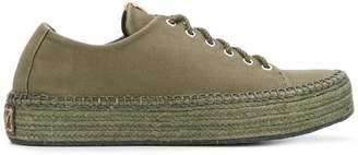 Visvim Prima lace-up folk sneakers