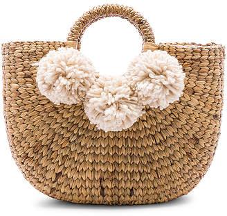 JADEtribe Small Sabai 3 Pom Basket