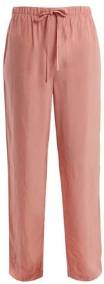 On The Island - Antiparos Drawstring Trousers - Womens - Pink Print