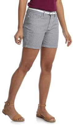 Lee Riders Women's Belted Cuff Short