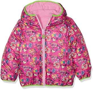 Nickelodeon Girl's Paw Patrol Be Happy Be Free Coat,(Manufacturer Size: 4 Years)