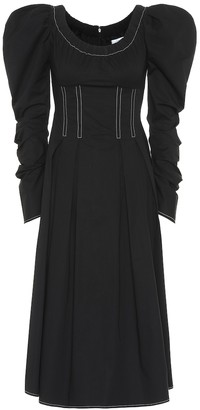 REJINA PYO Carla cotton midi dress