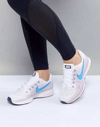 Nike Running Air Zoom Pegasus Trainers In White