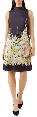 Hobbs London Delilah Floral Print Tunic Dress