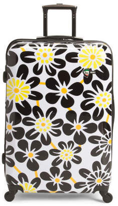 28in Ekko Floral Full Size Hardside Suitcase